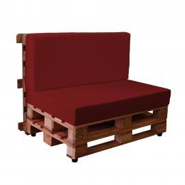 Sofá de palets con fundas de loneta KALLE (Para Interior y Exterior)
