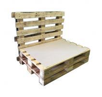 Cartón separador para sofá palet